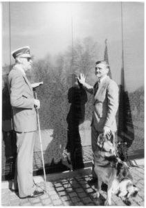 BVA visiting Vietnam Memorial