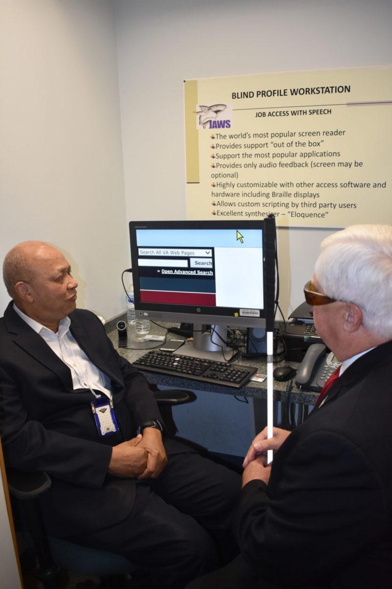 Veterans Service Resource Center-Blinded Veterans Association
