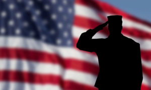 Soldier-Saluting-Flag
